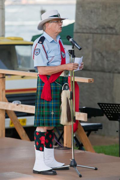 Clan MacLeod Pipe Band