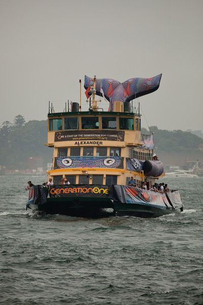 Australia Day 2011: Whale Ferry