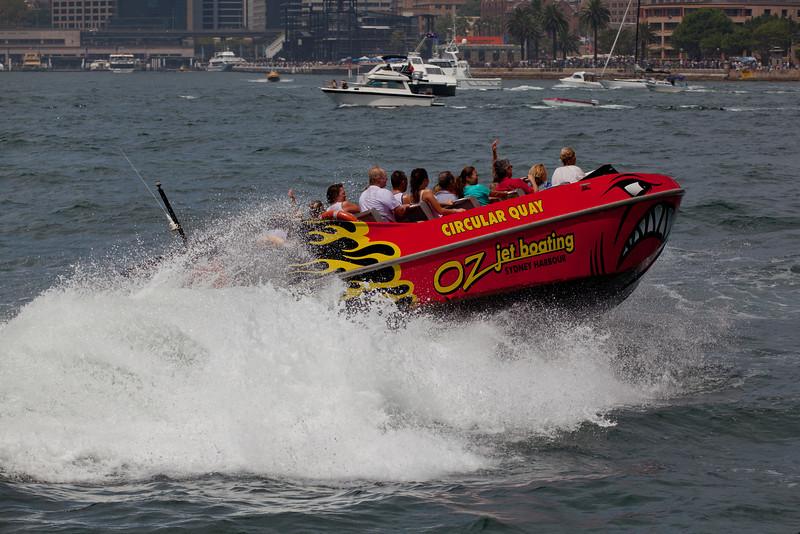 Oz Jetboating, Sydney