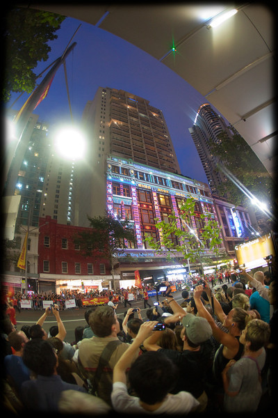Chinese New Year Parade, Sydney: Crowds