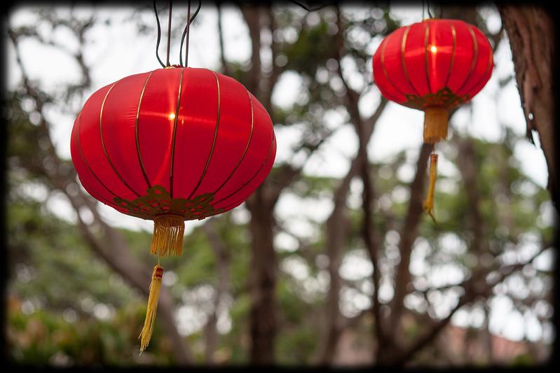 Chinese Lanterns at Chinese New Year Markets - Belmore Park, Sydney