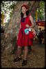 Khema Kyaw at the Chinese New Year Market - Belmore Park, Sydney