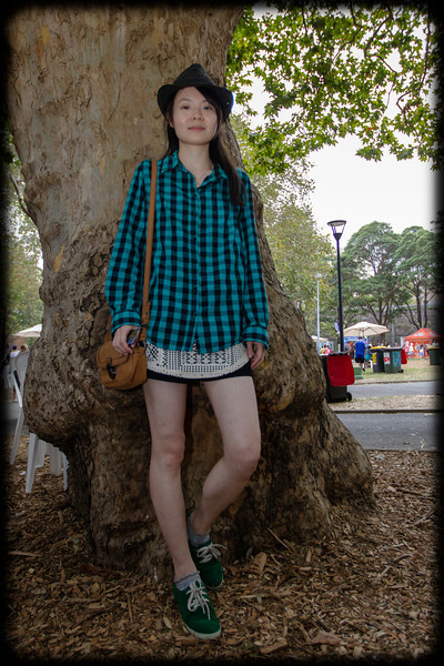 Sophie Xue at the Chinese New Year Market - Belmore Park, Sydney