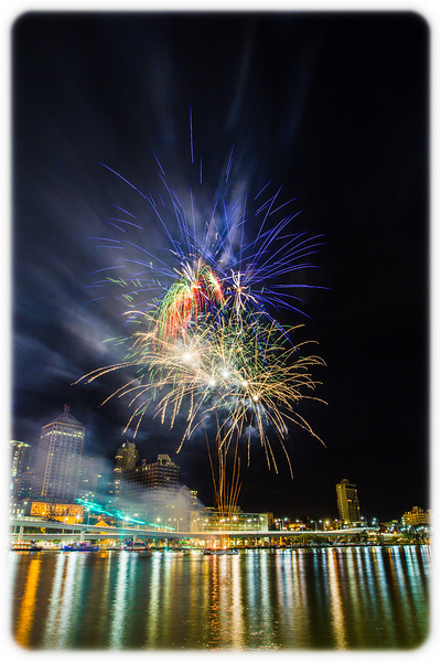 Bringing in 2013 at Southbank, Brisbane