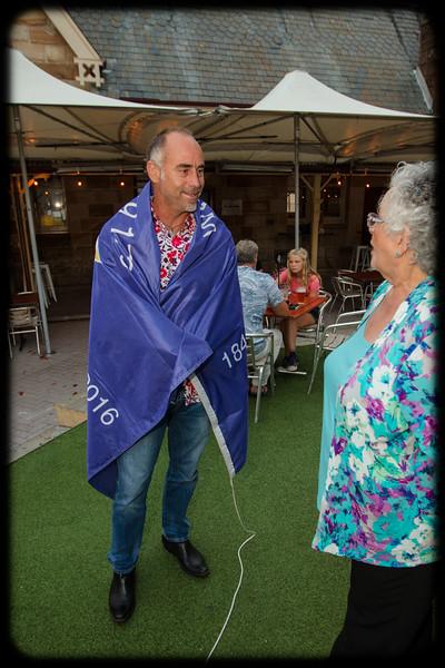 Follow the Wynberg Flag 175: Destination Sydney: Paddy Upton (1986) and Carole England