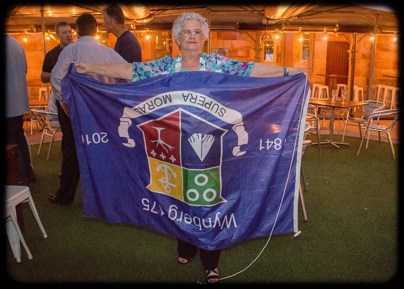 Follow the Wynberg Flag 175: Destination Sydney: Carole's Oopsie Moment  :-)
