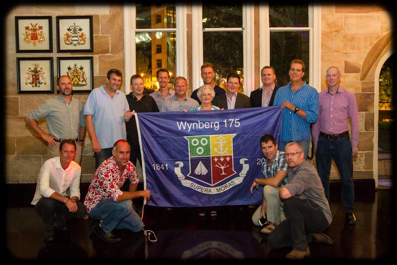 Follow the Wynberg Flag 175: Destination Sydney: What a fine bunch of Wynbergians (with Carole England)!