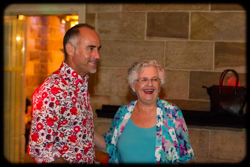 Follow the Wynberg Flag 175: Destination Sydney: Paddy Upton (1986) and Carole England share a laugh