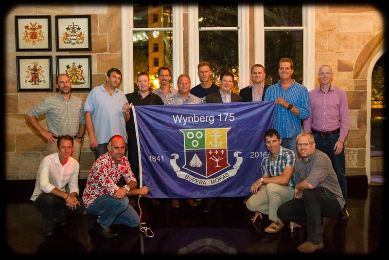Follow the Wynberg Flag 175: Destination Sydney: What a fine bunch of Wynbergians!