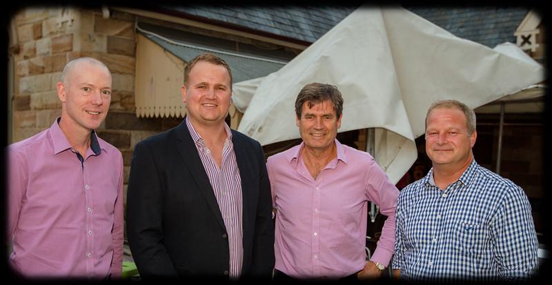 Follow the Wynberg Flag 175: Destination Sydney: Jeremy Joubert (1988), Simon Hopkins (1999), Graham Owen (1972), Andrew Tattersall (1988)