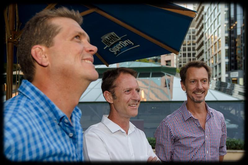 Follow the Wynberg Flag 175: Destination Sydney: John Rowberry (1987), Craig Kotthoff (1987), Sean Kotthoff (1988)