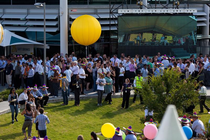 Optus Sydney Campus on the Optus 20th Birthdayg