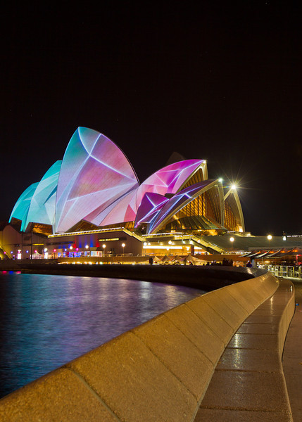 Vivid Festival: Sydney Opera House