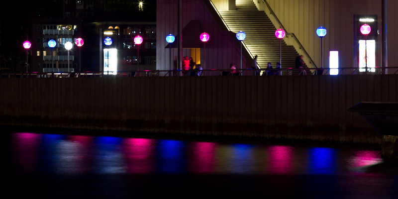 Vivid Festival: Lights Near the Opera House