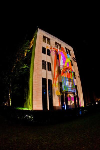 Vivid Festival: Interactive Paint Projection - Spinifex Group (Australia)