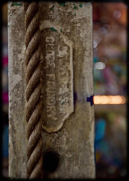 Glebe Tram Sheds: Rope