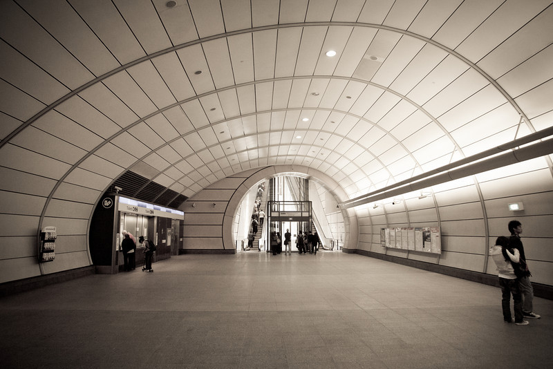 The Concourse at Macquarie University Station