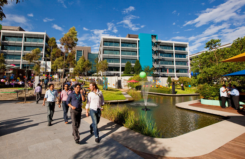 Optus Sydney Campus on the Optus 20th Birthdayg
