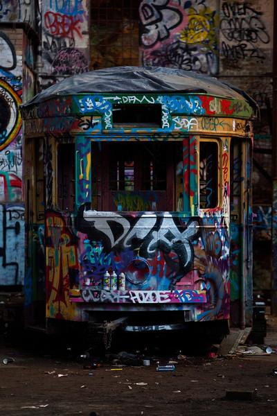 Glebe Tram Sheds:  Tram