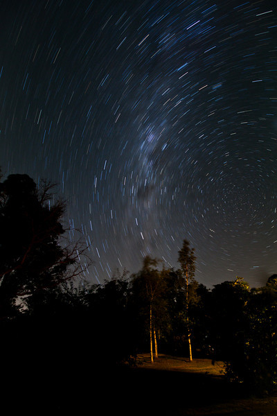 Star Trails above the Southern Highlands