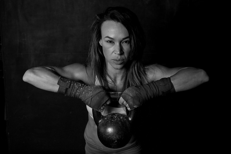 Zoraya Herrera's Gym shoot: Photo by Francois Steenkamp/SportDxb