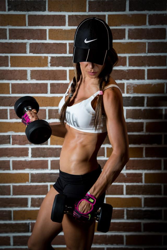 Zoraya Herrera's Gym shoot: Photo by Francois Steenkamp/SportDxb