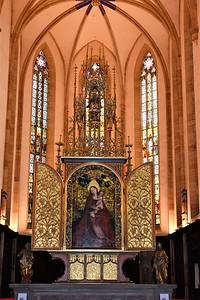St. Martin`s Church--Colmar, France