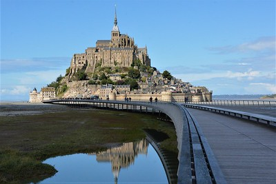 Mont Saint-Michel Approach, France