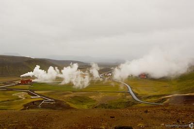 Geothermal power plantKrafla caldera area, IcelandSeptember 03, 2007Image Number: 200705864