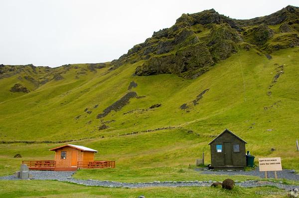 Snack bar and toilet at ReynisdrangurReynisdrangur, IcelandAugust 31, 2007Image Number: 200704531
