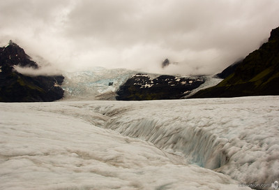 Vatnajökull Glacier, Skaftafell National Park, IcelandSeptember 01, 2007Image Number: 200705098