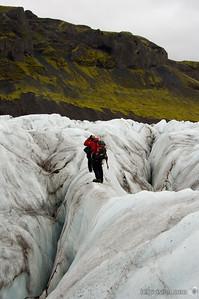 Vatnajökull Glacier, Skaftafell National Park, IcelandSeptember 01, 2007Image Number: 200705065