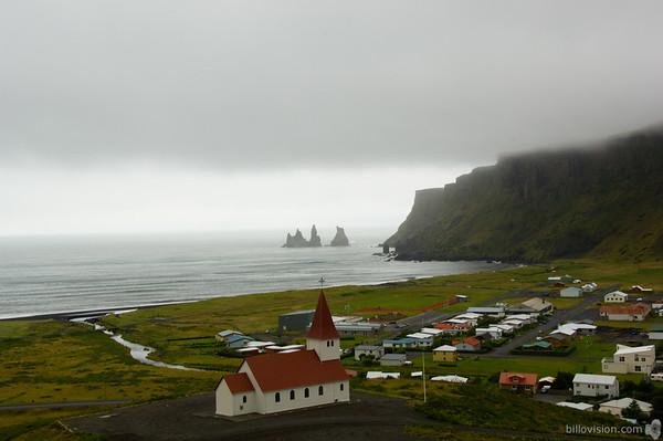 Vík Í Mýrdal, IcelandAugust 31, 2007Image Number: 200704515