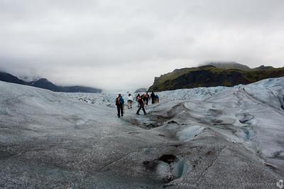 Vatnajökull Glacier, Skaftafell National Park, IcelandSeptember 01, 2007Image Number: 200705009