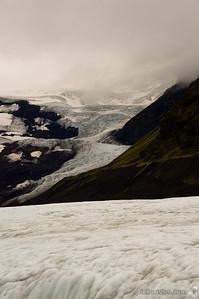 Vatnajökull Glacier, Skaftafell National Park, IcelandSeptember 1, 2007Image Number: 200705105