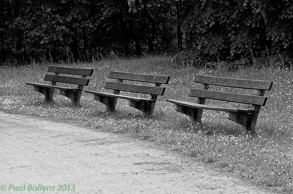 The three benches
