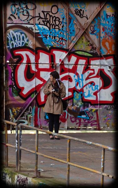 Glebe Tram Sheds: Graffiti Photographer