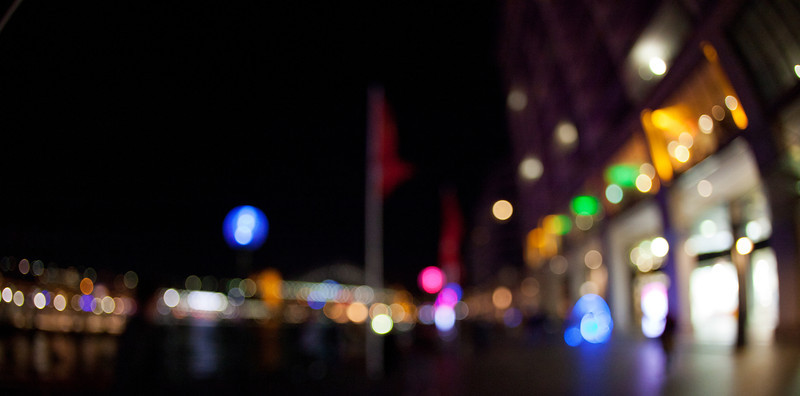Lights of Circular Quay