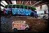 Glebe Tram Sheds: Buses