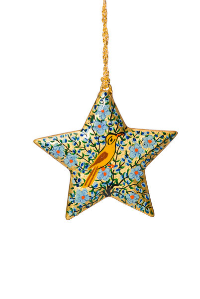 Isolated, Decorated Christmas Star