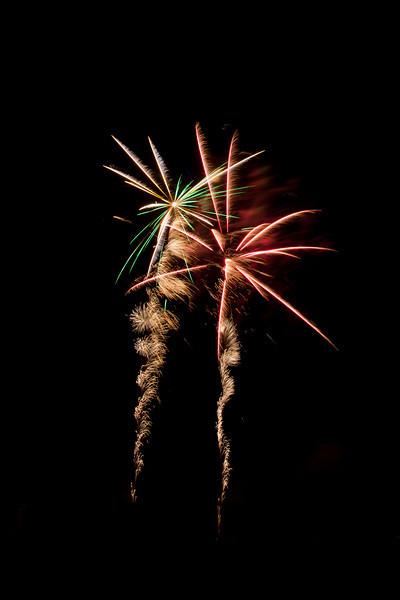 Fireworks at Northbridge, Sydney