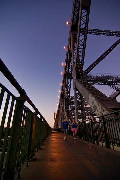 Story Bridge at Sunset