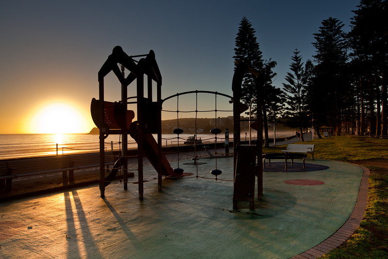Early Morning Playground