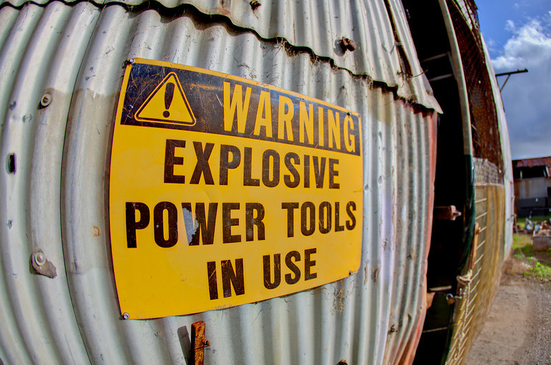 Explosive Power Tools?!