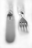 Antique Sterling Silver knife and fork