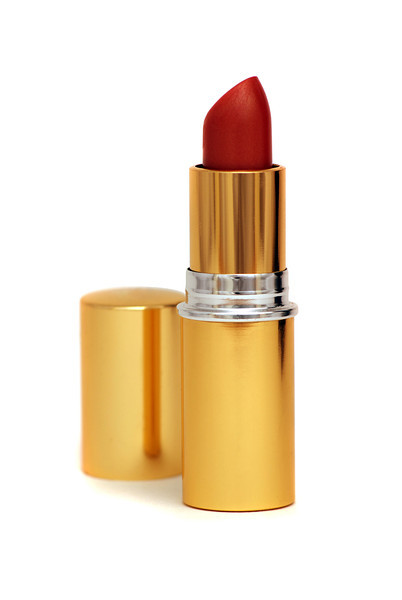 Isolated Red Lipstick