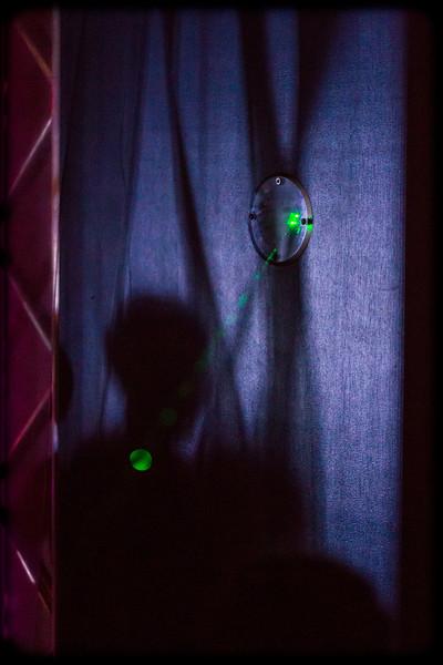 Raise the alarm: Green Laser Intrusion Detection
