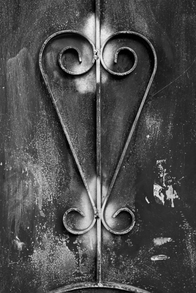 Welded Steel Design on a Gate