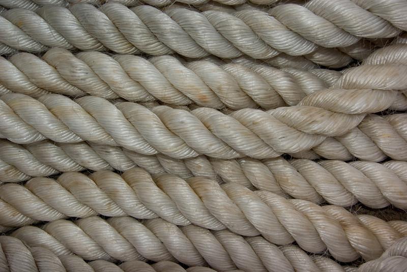 White Heavy-duty Nylon Mooring Rope