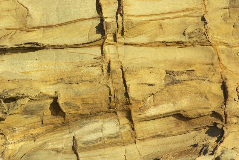 Rock Texture: Sandstone at Sunset